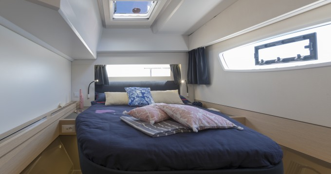Fountaine Pajot Astrea 42 between personal and professional Pleasant Valley