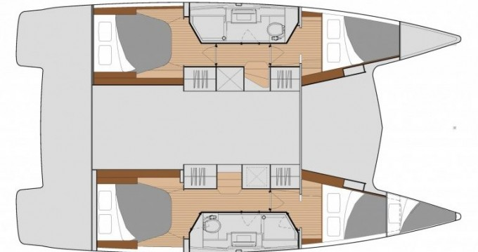 Rental yacht Pleasant Valley - Fountaine Pajot Isla 40 on SamBoat