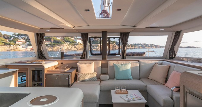 Fountaine Pajot Isla 40 between personal and professional Pleasant Valley