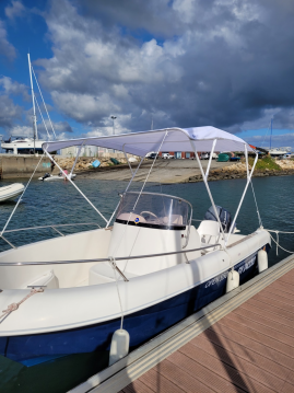Boat rental Pacific Craft Pacific Craft 555 Open in Loctudy on Samboat