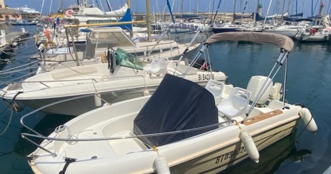 Rental Motorboat in Bastia - Jeanneau Cap Camarat 515 Style