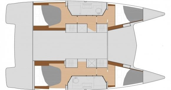 Hire Catamaran with or without skipper Fountaine Pajot St. Petersburg