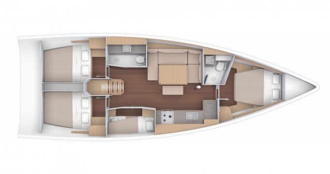 Boat rental Pleasant Valley cheap Dufour 430