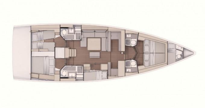 Rental Sailboat in Annapolis - Dufour Dufour 530