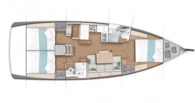 Boat rental Jeanneau Sun Odyssey 490 in St. Petersburg on Samboat