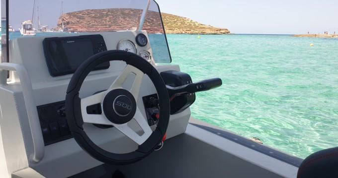 Boat rental Sant Antoni de Portmany cheap 585DC