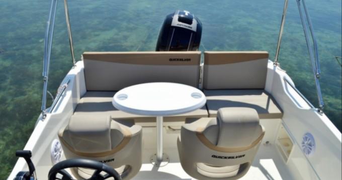 Rental yacht Pointe-Rouge - Quicksilver Activ 605 Sundeck on SamBoat