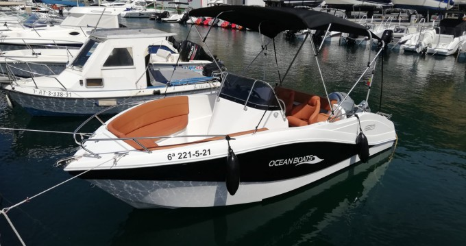 Rental yacht Puerto Campomanes Greenwich - Okiboats Barracuda 545 Open on SamBoat
