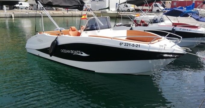 Okiboats Barracuda 545 Open between personal and professional Puerto Campomanes Greenwich