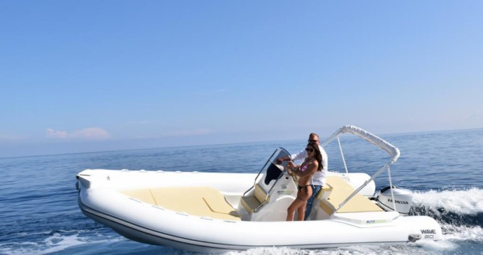 Hire RIB with or without skipper Altamarea Palermo