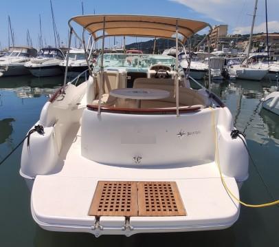 Rental Motorboat in Golfe-Juan - Jeanneau Leader 805