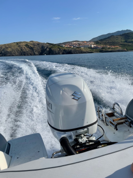 Hire Motorboat with or without skipper Bwa Port-Vendres