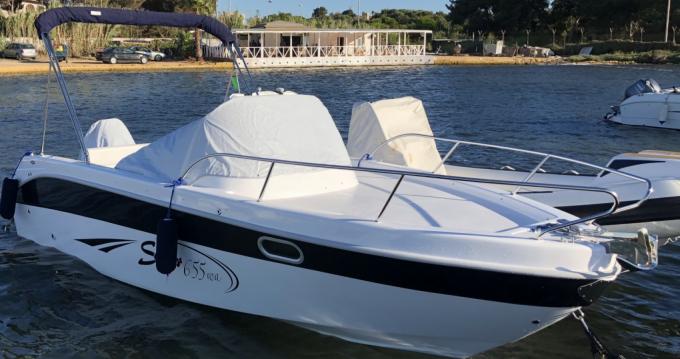 Rental Motorboat in Marsala - Saver 655 wa