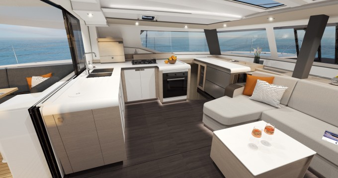 Hire Catamaran with or without skipper Fountaine Pajot Pleasant Valley