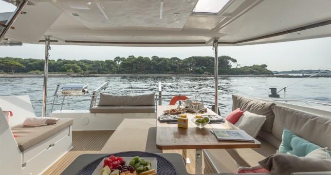 Catamaran for rent St. Petersburg at the best price