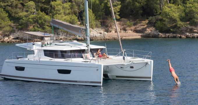 Boat rental St. Petersburg cheap Helia 44