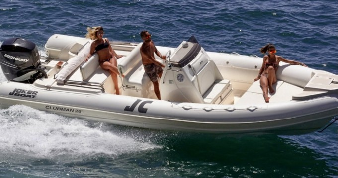 Hire RIB with or without skipper Joker Boat Lipari