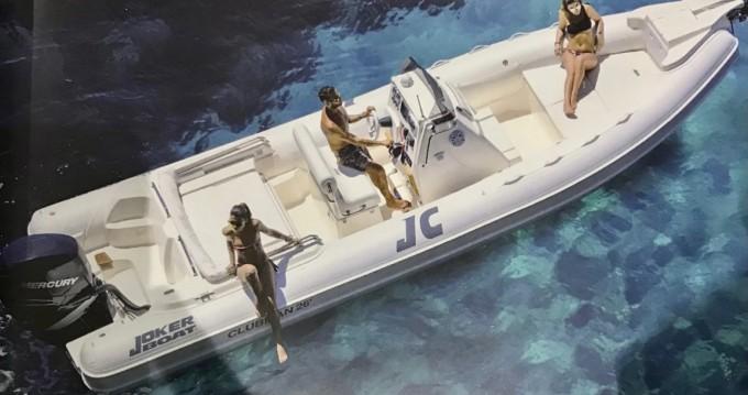 Rental RIB in Lipari - Joker Boat Clubman 26 Special