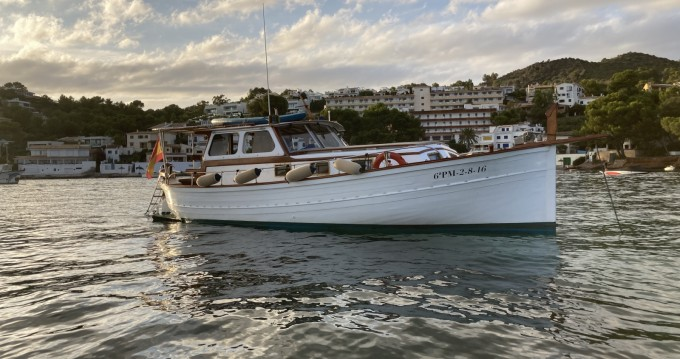 Hire Motorboat with or without skipper Mestre D'Aixa Curret Alcúdia