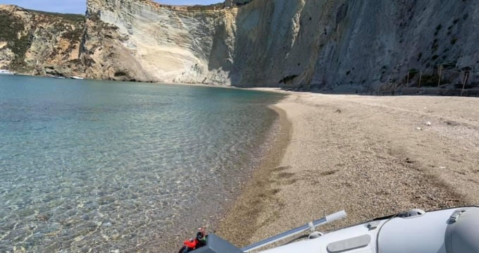 Motorboat for rent Porto Badino at the best price