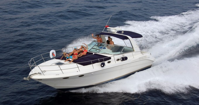 Sea Ray 400 between personal and professional Mandelieu-la-Napoule