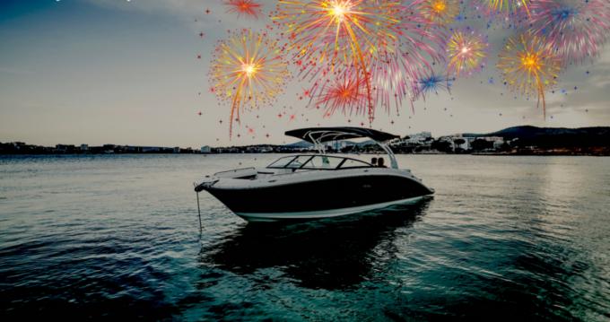 Boat rental Cannes cheap SDX 270