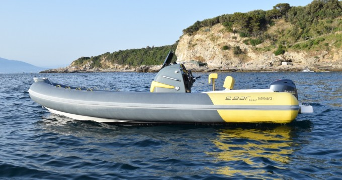Hire RIB with or without skipper 2bar Marina di Puolo