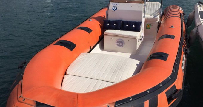 Hire RIB with or without skipper Focchi  Diano Marina
