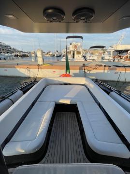 Boat rental Porto Cervo cheap Black Shiver 100