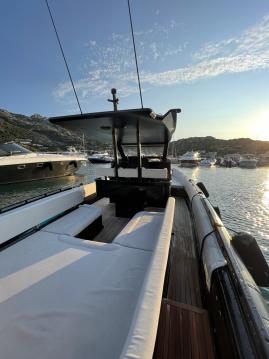 Rent a Novamarine Black Shiver 100 Porto Cervo