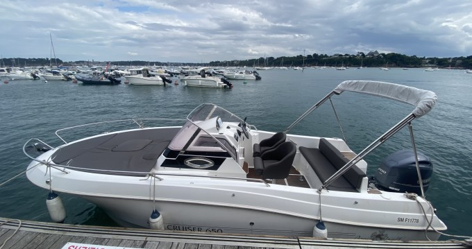 Rental Motorboat in Dinard - Pacific Craft Pacific Craft 650 SC