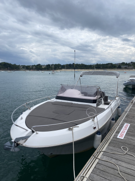 Hire Motorboat with or without skipper Pacific Craft Dinard