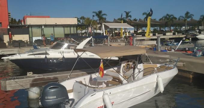 Rental Motorboat in Santa Pola - Bluline 620