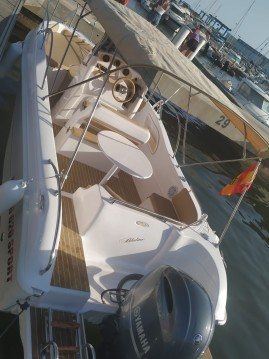 Hire Motorboat with or without skipper Bluline Santa Pola