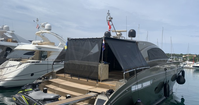 Boat rental Rovinj cheap Jaguar 72