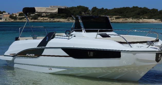 Rental Motorboat in Bandol - Bénéteau Flyer 7.7 SUNdeck