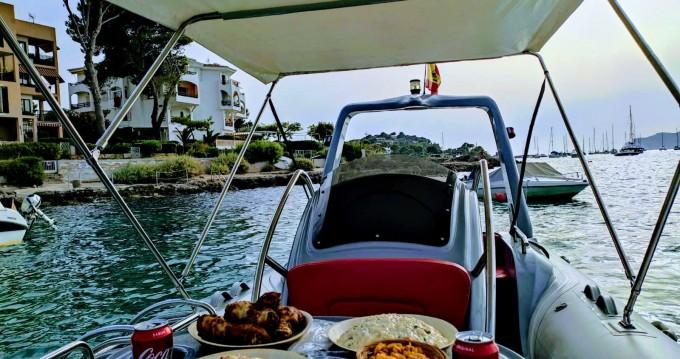 Boat rental ZODILUX 5 80 Pro in Santa Ponsa on Samboat