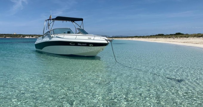 Hire Motorboat with or without skipper Rinker Ibiza Town