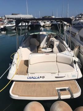 Boat rental Ibiza Town cheap Captiva 282