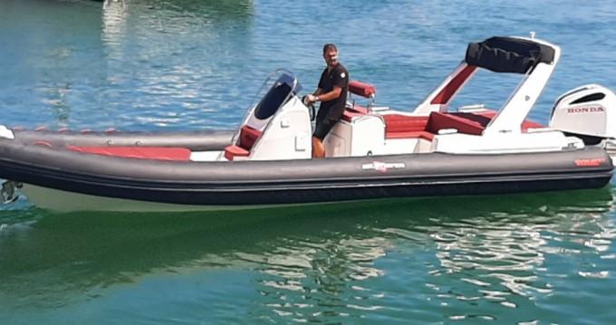 Boat rental Fréjus cheap Wave 27