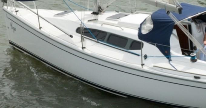 Boat rental Willemstad cheap Dehler 29