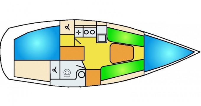 Rental Sailboat in Willemstad - Dehler Dehler 29