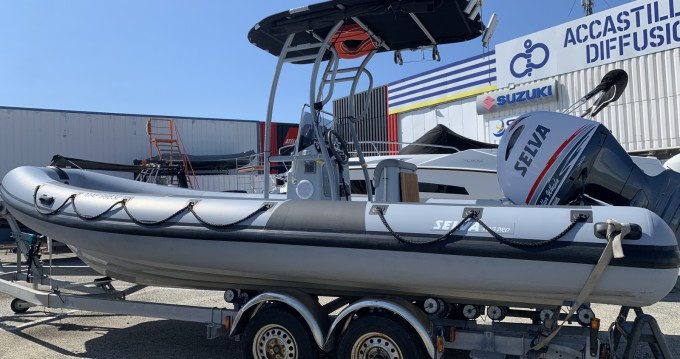 Hire RIB with or without skipper Selva Port-Camargue