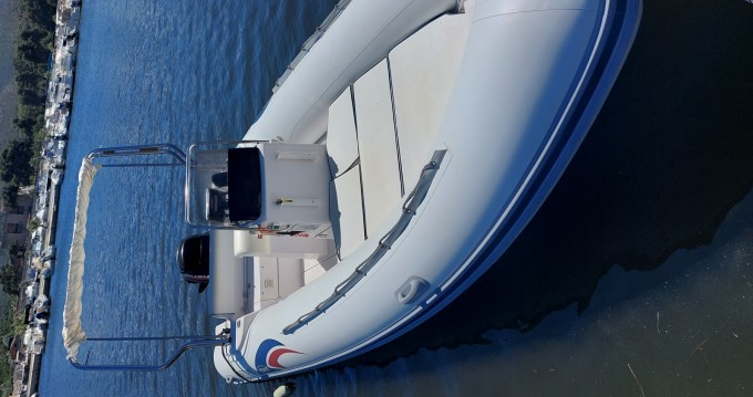 Rental Motorboat Italboats with a permit