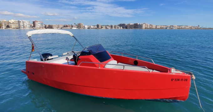 Rental Motorboat Nuva with a permit