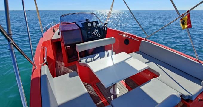 Boat rental Santa Pola cheap Nuva M6 Open
