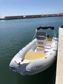 Rent a Italboats Predator 599 AS Santa Pola