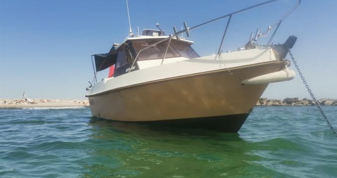 Rental Motorboat in Saintes-Maries-de-la-Mer - Ocqueteau Alienor 680