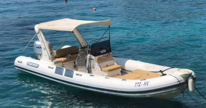 Mariner 150 between personal and professional Hvar