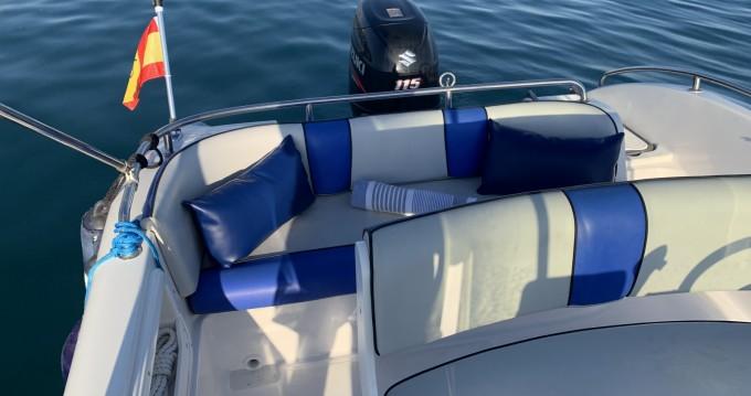 Rental Motorboat in Málaga - Ranieri Stargate
